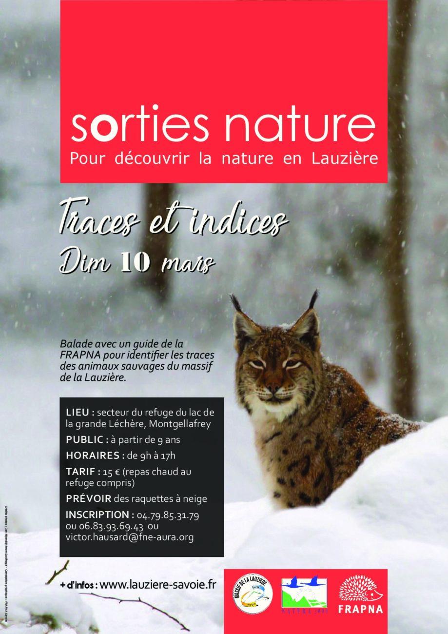 Sortie Nature le dimanche 10 mars