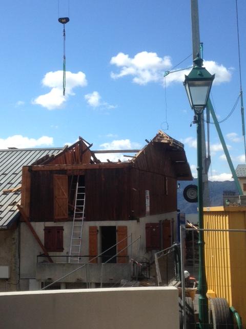 Zoom sur… Les travaux de rénovation de la Maison de la Marie