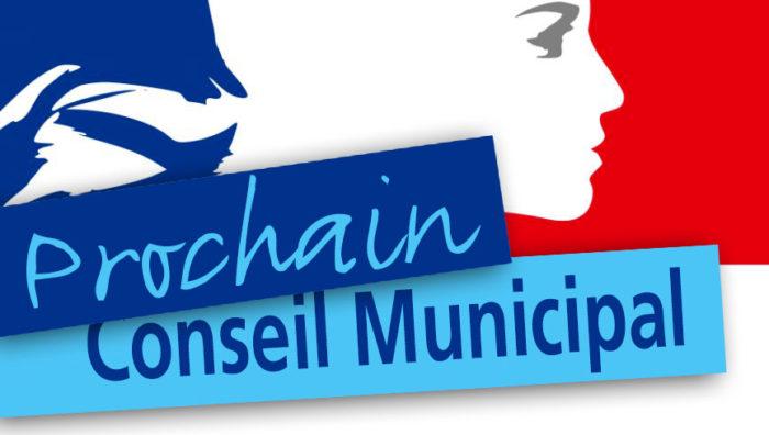 Conseil municipal vendredi 5 Février à 19h30