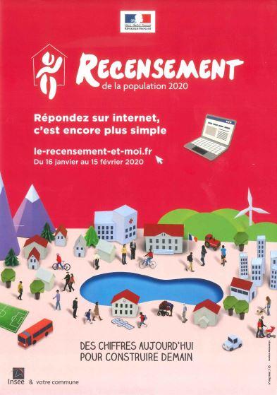 Image accueil de la page Recensement de la population, à partir du 16 Janvier du site Montsapey